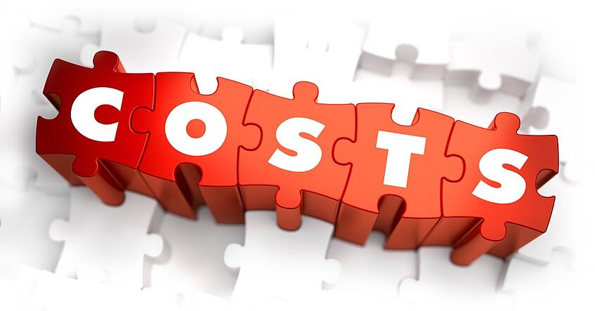 Costs- White Word on Red Puzzles on White Background. 3D Illustration.-1.jpeg